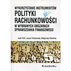 Wykorzystanie instrumentów polityki rachunkowości - bezpłatny odbiór zamówień w Krakowie (płatność gotówką lub kartą).