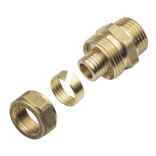 Złączki i mufy hydrauliczne, Złączka skręcana KAN-therm gwint zewnętrzny 1/2 x 18 x 2,5 mm
