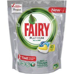 Tabletki do zmywarki FAIRY Platinum Lemon (45 sztuk) + Zamów z DOSTAWĄ W PONIEDZIAŁEK!