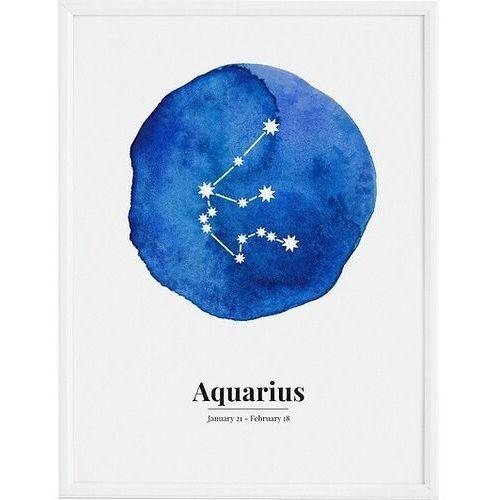 Plakaty, Plakat Aquarius 30 x 40 cm