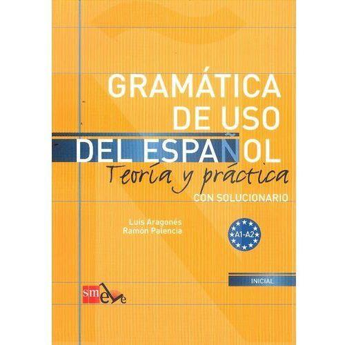 Książki do nauki języka, Gramatica de uso del espanol A1-A2 (opr. miękka)
