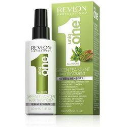 Revlon Uniq One Green Tea | Kuracja do włosów o zapachu zielonej herbaty 10in1 150ml