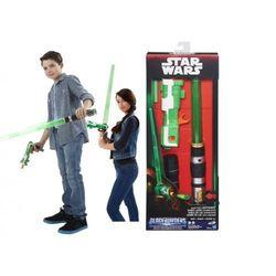 Star Wars MIECZ Świetlny DŹWIĘK Pistolet NERF 2w1