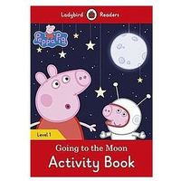 Książki do nauki języka, Peppa Pig Going to the Moon Activity Book (opr. miękka)