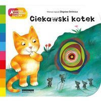 Literatura młodzieżowa, Ciekawski kotek. Darmowy odbiór w niemal 100 księgarniach! (opr. kartonowa)