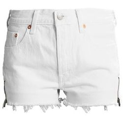 Levi's® 501 SHORT ALTERED ZIP Szorty jeansowe seeing white
