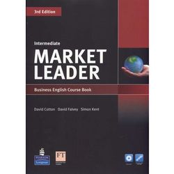 Market Leader 3rd Edition Intermediate, Coursebook (podręcznik) plus DVD-ROM (opr. miękka)