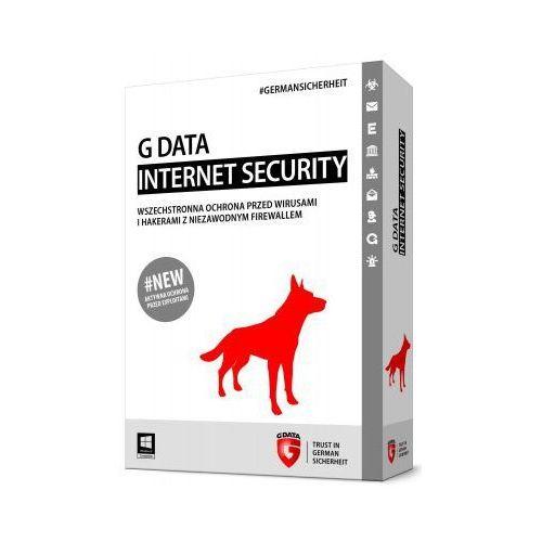 Oprogramowanie antywirusowe, Gdata Internet Security 1 stanowisko 1 rok BOX (082285) Darmowy odbiór w 21 miastach!