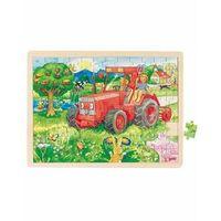 Puzzle, Puzzle motyw Traktor 96 el, Goki 57655