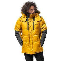 Męska parka puchowa THE COOK PARKA burly yellow XT - XL