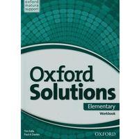 Książki do nauki języka, Oxford Solutions Elementary Workbook (opr. broszurowa)