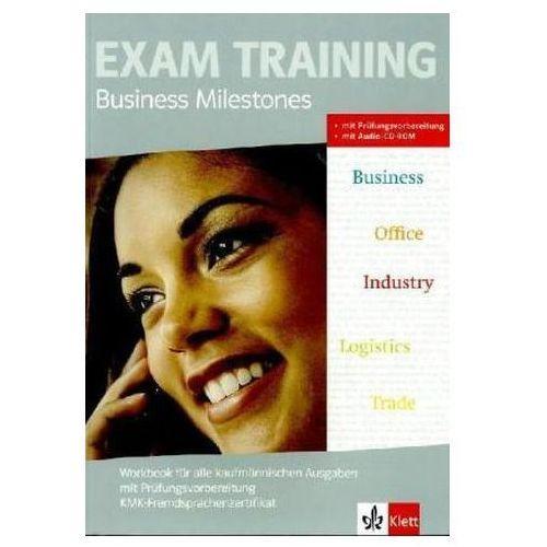 Pozostałe książki, Workbook für alle kaufmännischen Ausgaben mit Prüfungsvorbereitung KMK-Fremdsprachenzertifikat + Audio-CD-ROM Krabbe, Uwe