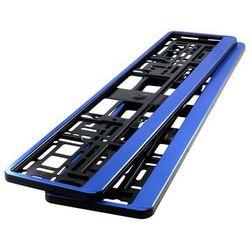 Ramki pod tablicę rejestracyjną HP Niebieskie 2 szt - Niebieskie