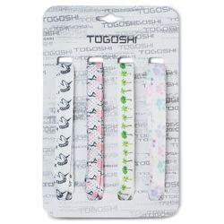 Zestaw sznurówek do obuwia TOGOSHI - TG-LACES-120-4 Biały Kolorowy