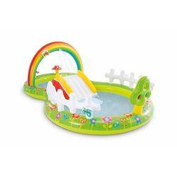 Basen dla dzieci, plac zabaw wodny, zjeżdżalnia, intex, 290 cm