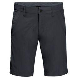 Jack Wolfskin Desert Valley Spodnie krótkie Mężczyźni czarny 48 2018 Szorty syntetyczne