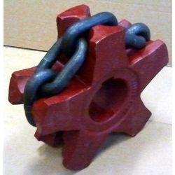 KOŁO GNIAZDOWE Rozrzutnik Bergmann Z=5,łańcuch 14x50 kl5