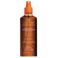 Collistar Sun Protection olejek do opalania SPF 15 (Supertanning Dry Oil) 200 ml