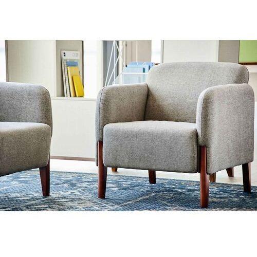 Fotele i krzesła biurowe, Fotel FUSION jasnoszary