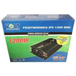 Przetwornica napięcia Volt IPS-1200 DUO 12/24/230V 1200W