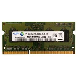 Pamięć RAM 1x 2GB SAMSUNG SODIMM DDR3 1333MHz PC3-10600S M471B5773DH0-CH9