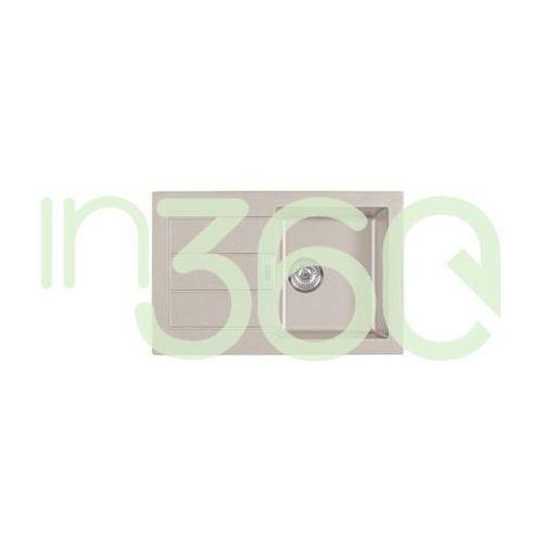 sirius sid 611-78 zlewozmywak wbudowywany tectonite orzechowy 114.0181.974 marki Franke