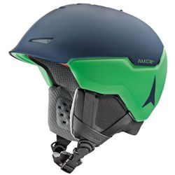 ATOMIC REVENT+ AMID D.BLUE/GREEN - kask narciarski R. M (55-59 cm)