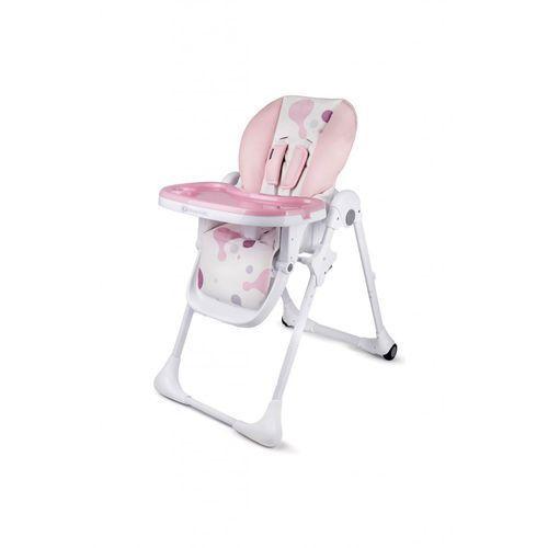 Krzesełka do karmienia, Krzesełko do karmienia Yummy pink 5O35EE