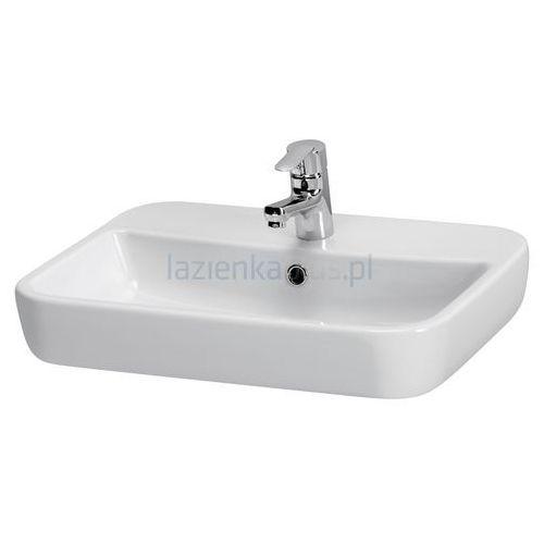 Umywalki, Umywalka nablatowa 60 Caspia Square Cersanit (K11-0095)