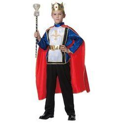 Kostium Król Deluxe dla chłopca - XL - 140 cm