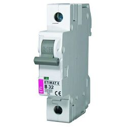 Wyłącznik nadprądowy 1P C 16A 6kA AC ETIMAT 6 002141516 ETI-POLAM