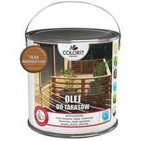 Podkłady i grunty, Olej do tarasów Colorit Drewno teak indonezyjski 2,5 l