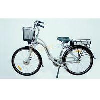 """Pozostałe rowery, Rower elektryczny Mistral 28"""" LX Interbike (srebrny) Dostawa GRATIS!"""