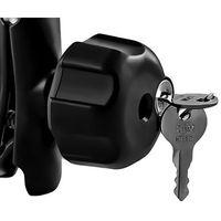 Pozostałe części do motocykli, Ram Mounts Gałka zabezpieczająca zamykana kluczyk.