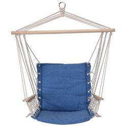 Fotel do zawieszenia Comfortable niebieski, 100 x 53 cm