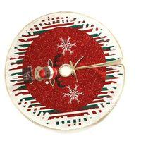 Ozdoby świąteczne, Pokrowiec pod choinkę na święta Bożego Narodzenia - 70 cm - 1 szt.