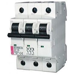 Wyłącznik nadprądowy ETIMAT10 3P C02 10kA ETI