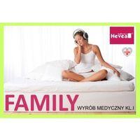 Materace, Materac lateksowy Hevea Family Medicare Plus 180x200
