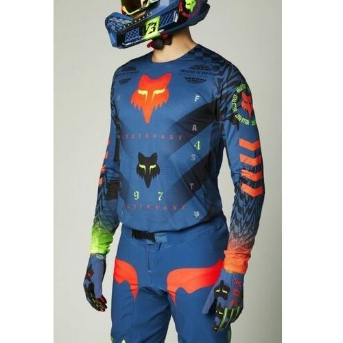 Pozostałe akcesoria do motocykli, Fox bluza off-road flexair mawlr le dusty blue