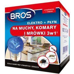 BROS elektro +płyn na muchy, komary i mrówki