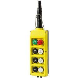 Kaseta sterownicza, start, grzybek, 6 przycisków (4 podwójnej prędkości) PLB08D4
