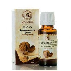 Olej z Orzechów Brazylijskich, Brazil Nut Oil, 50 ml, 100% Naturalny, Aromatika