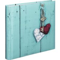 Fotoalbumy, ALBUM JUMBO RUSTICO 30x30/100 LOVE KEY
