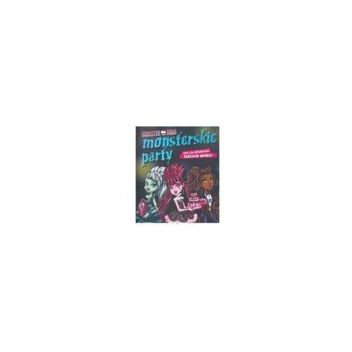 Literatura młodzieżowa, Koszmarna kronika klasowa Monster High (opr. twarda)