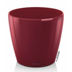 Donica Lechuza Classico LS czerwona scarlet red 28 cm
