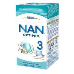 NESTLE NAN OPTIPRO 3 350g Mleko modyfikowane w proszku Dla dzieci od 1 roku życia Karton
