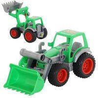 Traktory dla dzieci, Farmer-technik traktor ładowarka w siatce - Polesie Poland