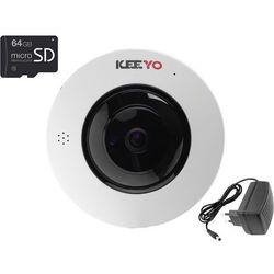 Kamera IP bezprzewodowa KEEYO LV-IP4M2FE-SD64 4Mpx IR 25m z kartą pamięci microSD 64GB