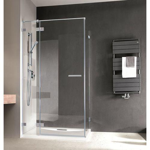 Radaway Radaway euphoria kdj drzwi prysznicowe 100 lewe szkło przejrzyste 383040-01l __autoryzowany_dystrybutor__ 100 x 120 (383040-01L/383054-01)