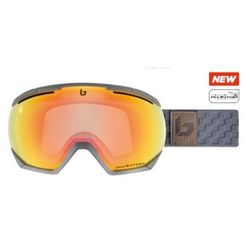 Gogle Bolle NORTHSTAR MATTE GREY SQUARES PHANTOM FIRE RED S1-3